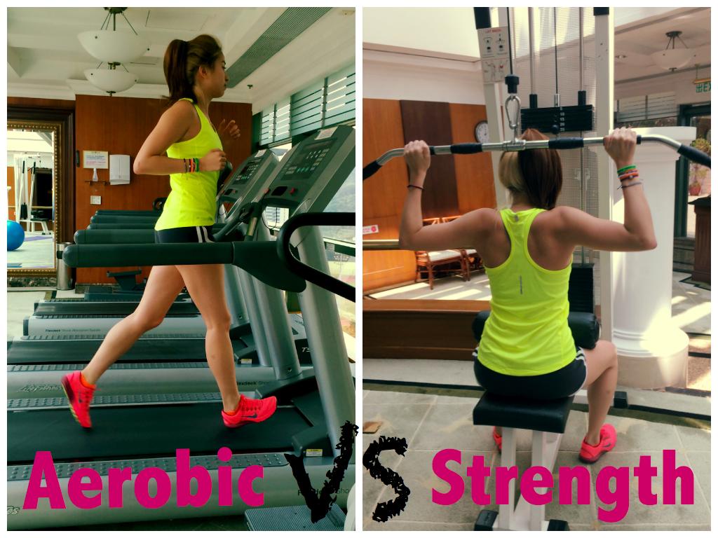 aerobic training vs strength training the tweedlets. Black Bedroom Furniture Sets. Home Design Ideas