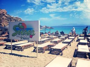 Mykonos Super Paradise Beach!