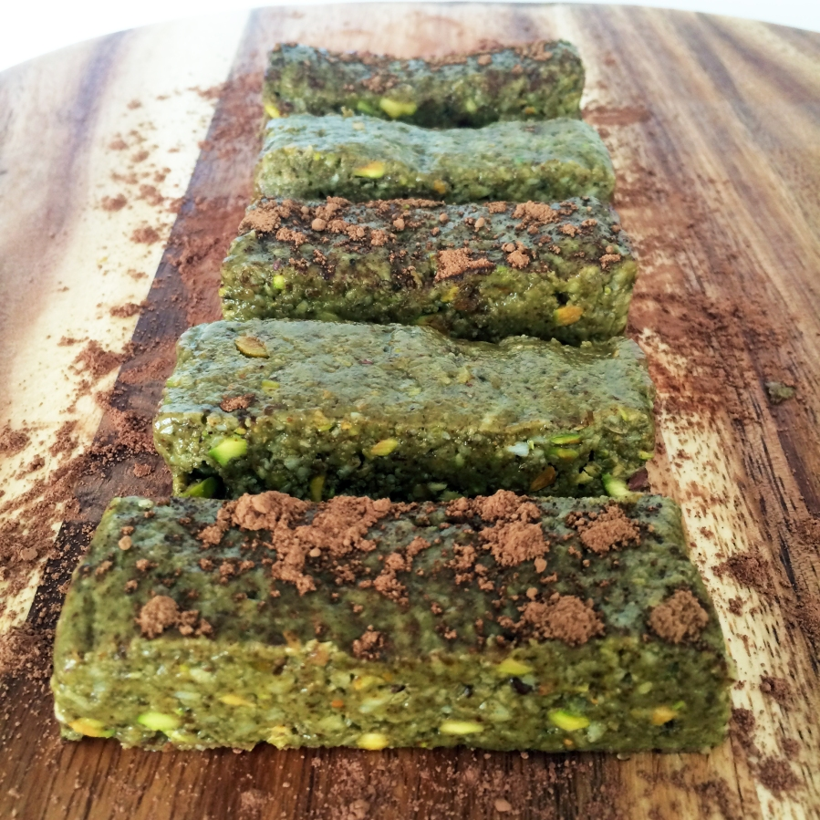Matcha Pistachio Brownie Bar 32