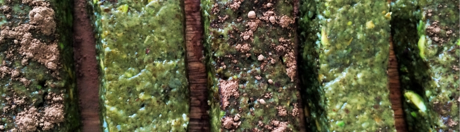 raw matcha fudge brownie