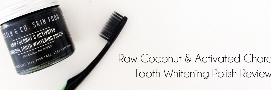 Sister & Co Activated Charcoal Tooth Whitening