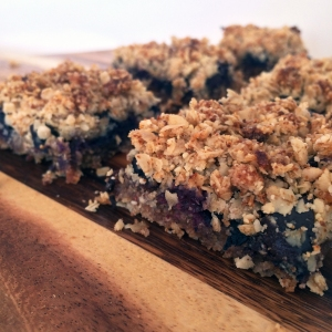 Blueberry Chocolate Crumble