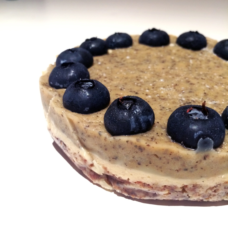 raw blueberry earl grey cheesecake 2