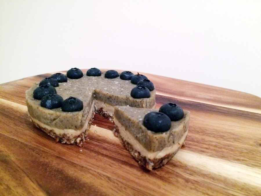 raw blueberry earl grey cheesecake 20