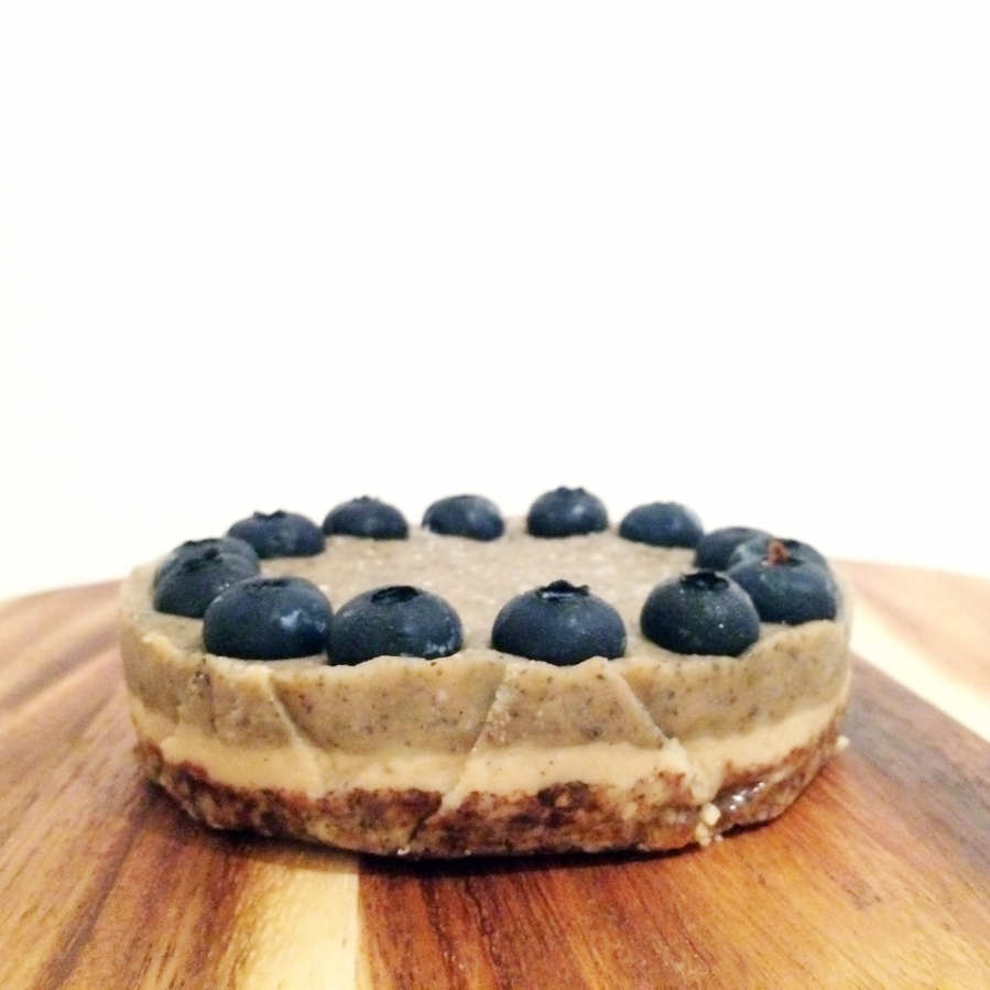 raw blueberry earl grey cheesecake 9