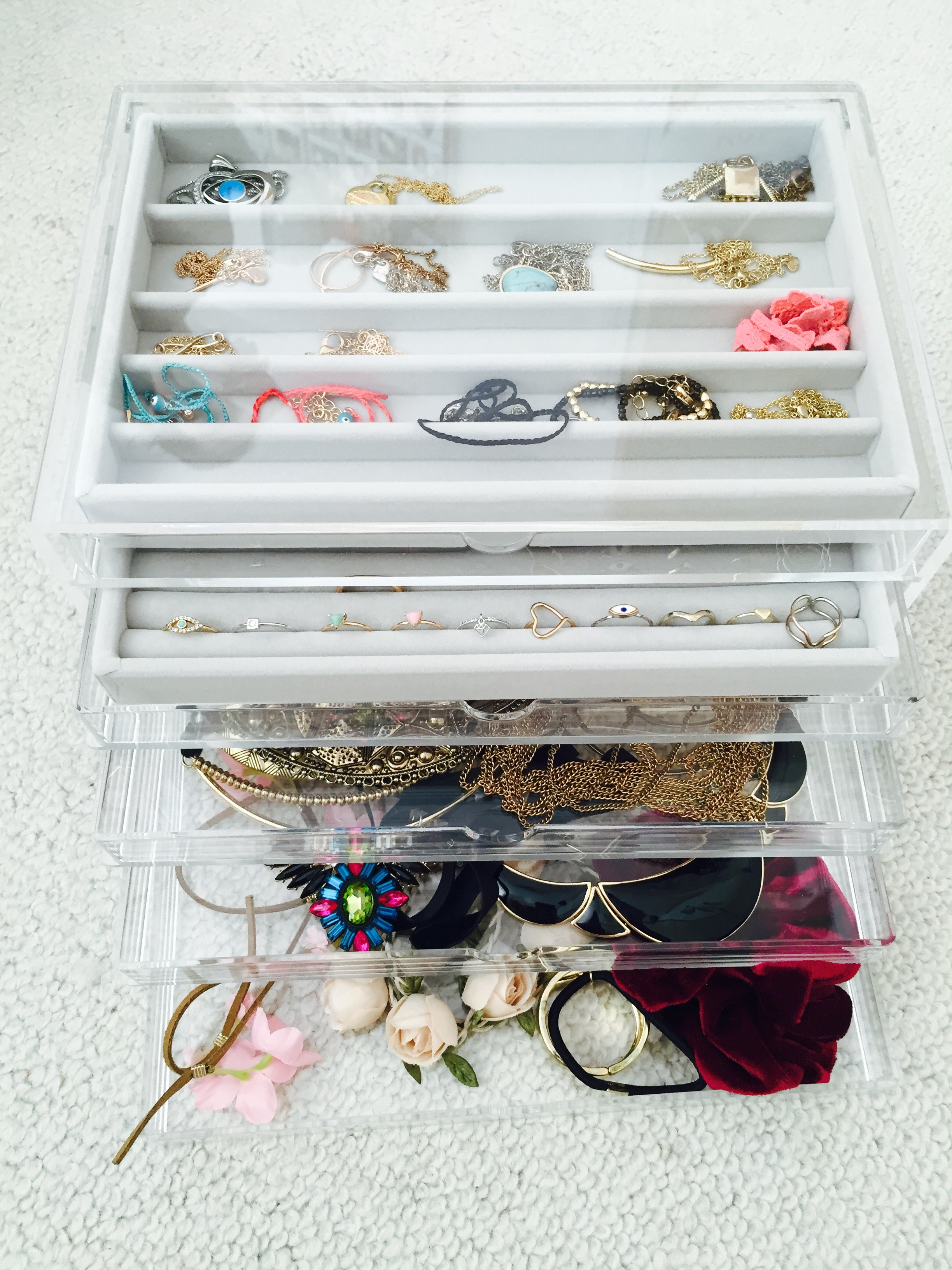 fee9d57c6 The jewellery trays are perfect for storing smaller items and ensures that  your necklaces don't get tangled up! I absolutely despise having to spend  ages ...
