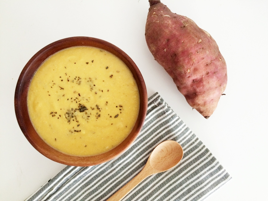 Sweet Potato Warming Ginger Soup