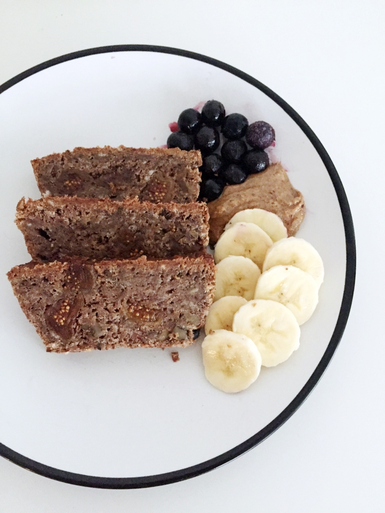 banana fig protein bread 10