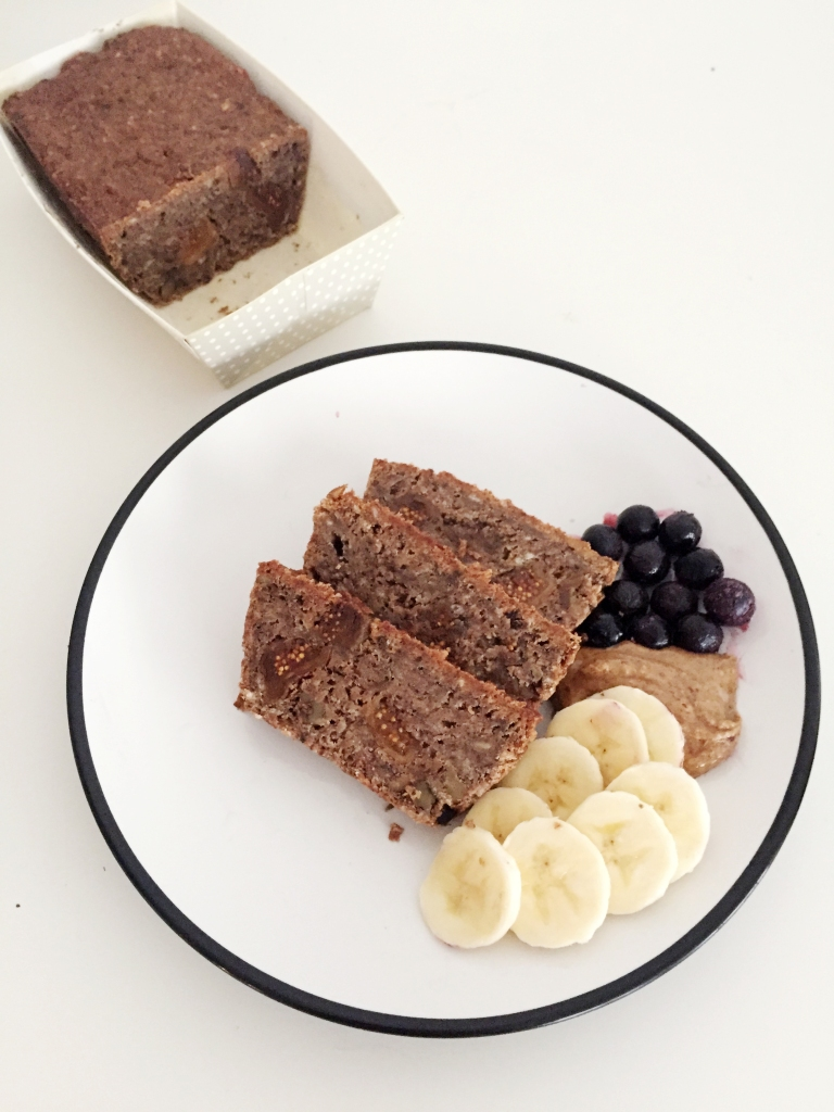 banana fig protein bread 3