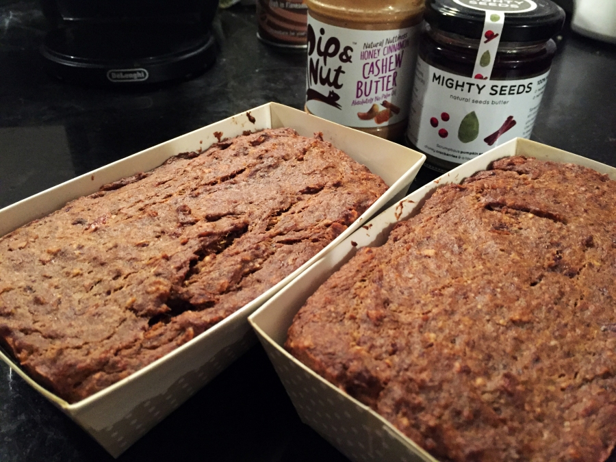 banana fig protein bread