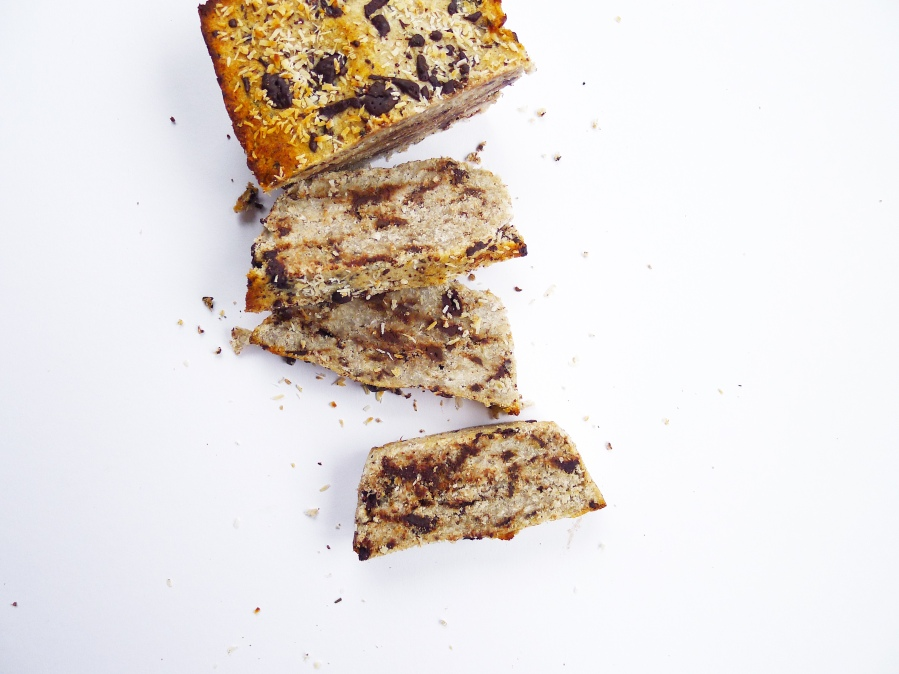 Coconut Banana Chocolate Bread